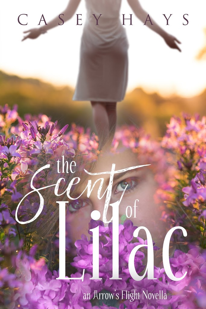 Cover Reveal and Pre-order for The Scent of Lilac by Casey Hays!
